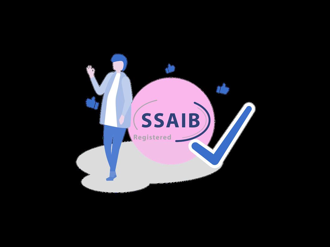 SSAIB REGISTERED SINCE 2006
